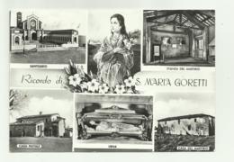 NETTUNO - RICORDO DI S.MARIA GORETTI    VIAGGIATA FG - Other