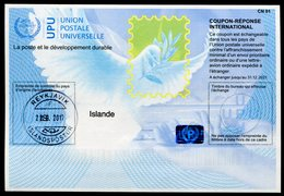 ISLANDE   Coupon Réponse International / International Reply Coupon - Entiers Postaux