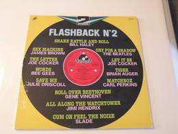 Flashback N°2 Compilation -(Titres Sur Photos)- Vinyle 33 T LP Double Album - Hit-Compilations