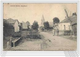 GRANDMENIL ..-- MANHAY ..-- 1912 Vers GODARVILLE ( Melle J. PIERCHAUX ) . Voir Verso . - Manhay