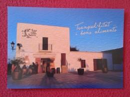 SPAIN POSTAL POST CARD CARTE POSTALE PUBLICITARIA PUBLICIDAD ADVERTISING ISLAS BALEARES IBIZA BAR BALEARIC ISLANDS VER - Publicidad