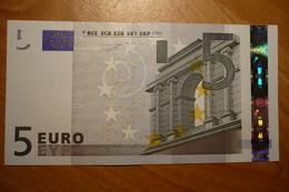 P001 I5 Duisenberg Germany 5 EURO 2002 P001I5 X00375499001 Unc - 5 Euro