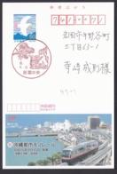 Japan Advertising Postcard, Okinawa City Monorail, Postally Used (jadu1586) - Postal Stationery