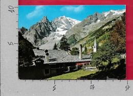 CARTOLINA VG ITALIA - COURMAYEUR (AO) - Scorcio Panoramico Aiguille Noir De Peuterey - 10 X 15 - ANN. 1975 - Italia