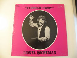 Yiddisch Story Lionel Rocheman -(Titres Sur Photos)- Vinyle 33 T LP - Humour, Cabaret