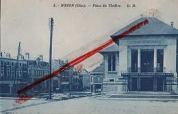 (Oise) Noyon - 60 - Place Du Théâtre - Noyon
