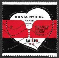 FRANCE   2018 -  YT 5198 - Coeur -  Sonia Rykiel - Oblitéré - 2010-.. Matasellados