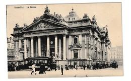 Brussel Tram Tramway La Bourse Bruxelles - Monuments, édifices