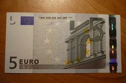 P003 G2 Duisenberg Germany 5 EURO 2002 P003G2 X04269166292 Aunc - 5 Euro