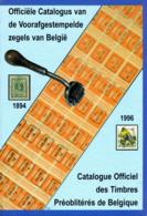 Catalogus Voorafgestempelde Zegels België 1894-1996 PDF Op DVD - Belgique