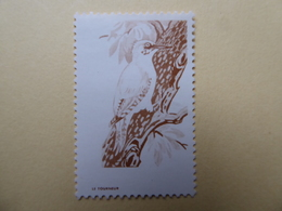 FRANCE Cotées Sur Yvert, Vignettes Expérimentales Pour La France Pic Vert PV3  MNH  Nfs Sans Charn.. - Autres