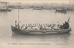 Morbihan . Quiberon . Compagnies De Débarquement De L' Escadre à Port-Haliguen . - Quiberon