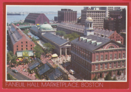 BOSTON , FANEUIL HALL MARKETPLACE & THE MARRIOT HOTEL - Photo John Klein-SUP** 2 SCANS - Boston