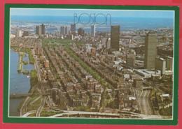 A BIRD' EYE VIEW Of BOSTON -  -SUP** 2 SCANS - Boston