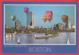 BOSTON - BALLOONS Over BACK BAY - Photo John Klein  -SUP** 2 SCANS - Boston
