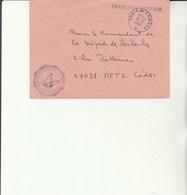 L 3 -  Enveloppe Gendarmerie Prévôtal  De La 1ére Division Et De La Zone Nord  (FFA) Poste Aux Armées - Marcophilie (Lettres)
