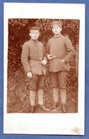 Carte Photo -  Soldats Allemands  - - Guerre 1914-18