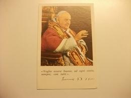 PAPA GIOVANNI XXIII  PENSIERI DI GIOVANNI - Santini
