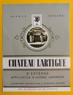 9966 - Château Lartigue Saint-Estèphe - Bordeaux