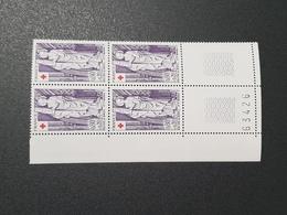 N° 1910  Neuf ** Gomme D'Origine En Bloc De 4  TTB - France