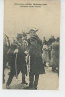 BELGIQUE - FAMILLE ROYALE - Avènement Du ROI ALBERT , 23 Décembre 1909 - Remise Du Sabre D'honneur - Belgique
