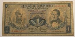 El Banco De La Rebublica - Colombia - 1 Peso Oro - 1973 - Colombie