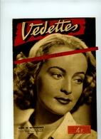 VEDETTES-No 83 Du 4 Juillet 1942Madeleine SOLOGNE, L'Ambassade Du Music-hall,Lys Gauty,Fréhel, Souplex Etc..., à Berlin - Cinéma/Télévision
