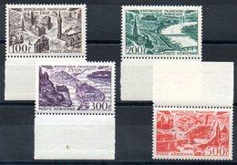 FRANCE - YT PA N° 24 à 27 Bdf - Neuf ** - MNH - Cote  110,00 € - Lire Descriptif - - Poste Aérienne