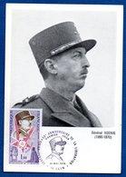 Carte Premier Jour / Général  Koenig / Caen / 25-5-74 - Cartes-Maximum