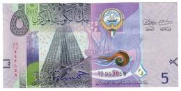 Kuwait 5 Dinars 2014 UNC - Kuwait