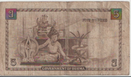 BURMA P. 35 5 R 1948 F - Myanmar