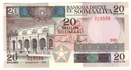 Somalia 20 Shilling 1989 UNC - Somalia