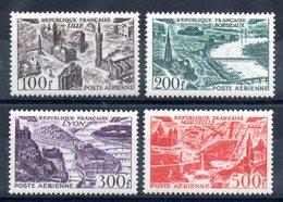 FRANCE - YT PA N° 24 à 27 - Neuf ** - MNH - Cote  110,00 € - 1927-1959 Mint/hinged