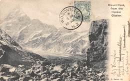Nouvelle Zélande / Mount Cook From The Hooker Glacier - Défaut - Nouvelle-Zélande