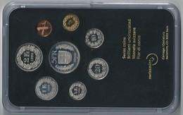 SVIZZERA 1998 - DIVISIONALE FDC - N.° 8 Pezzi - Con 5 CHF (Fr. Sv.) - Confezione Originale - Svizzera