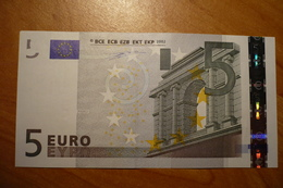 P008 G1 Duisenberg Germany 5 EURO 2002 P008G1 X09716396042 Aunc - 5 Euro