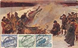 Pologne - Belle Carte Illustrée - Belle Oblitération - Lettonie