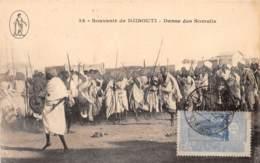 Djibouti / Danse Des Somalis - Belle Oblitération - Défaut - Djibouti