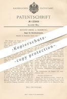 Original Patent - August Diehl , Hamburg , 1901 , Bogen Für Streichinstrumente | Musikinstrument | Geige , Violine !! - Historische Dokumente