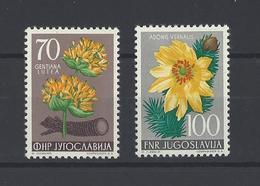 YOUGOSLAVIE .  YT   N° 674-675  Neuf *  1955 - Neufs