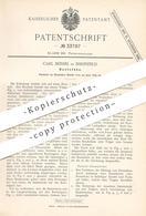 Original Patent - Carl Beissel , Ehrenfeld , 1885 , Roststab | Roststäbe | Rost , Ofenrost , Feuerung , Ofenbauer !!! - Historische Dokumente