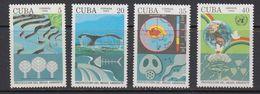 Cuba 1992 Protection Del Medio Ambiente 4v ** Mnh (41808) - Cuba