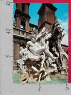 CARTOLINA VG ITALIA - ROMA - Piazza Navona - Fontana Del Bernini - 10 X 15 - ANN. 1979 - Places