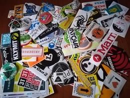 Lotto Circa 500 Adesivi Nuovi Assortiti Stickers - Adesivi