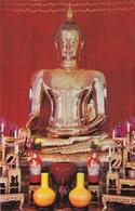 THE GOLDEN BUDDHA OF SUKHOTHAI    AUTENTICA 100% - Tailandia