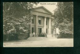 AK Vouziers, Justizpalast, Deutsche Feldpostkarte, Ungelaufen (5539) - Vouziers