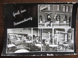 ALLEMAGNE  GRUSS AUS BRAUNSCHWEIG GASTSTATTE HAMBURGER HOF WILLI GRETHE - Braunschweig