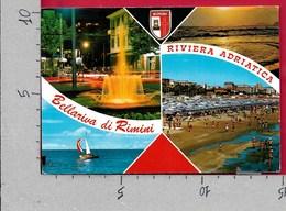 CARTOLINA VG ITALIA - BELLARIVA DI RIMINI (RN) - Vedutine Multivue - 10 X 15 - ANN. 1974 - Rimini