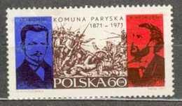 POLAND MNH ** 1913 CENTENAIRE DE LA COMMUNE DE PARIS. DABROWSKI. WROBLEWSKI - Ungebraucht