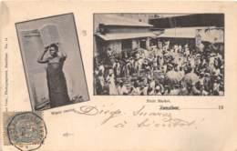 Zanzibar - Beau Cliché - Beau Cachet Maritime - Cartes Postales